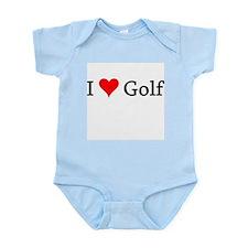 I Love Golf Infant Creeper