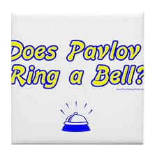 Does Pavlov Ring A Bell Tile Coaster