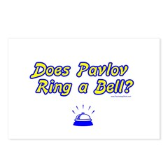 Does Pavlov Ring A Bell Postcards (Package of 8)