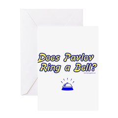 Does Pavlov Ring A Bell Greeting Card