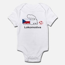 "Whooligan Czech ""Lokomotiva"" Infant Bodysuit"