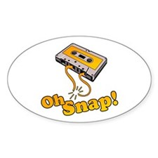 Oh Snap! Oval Decal