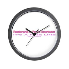 Relationship or Psych Experim Wall Clock