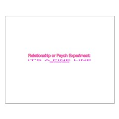 Relationship or Psych Experim Posters