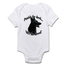 GSD (black) Anti-BSL 3 Infant Bodysuit