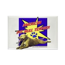 Pit bull, bully, amstaff, pop art design Rectangle
