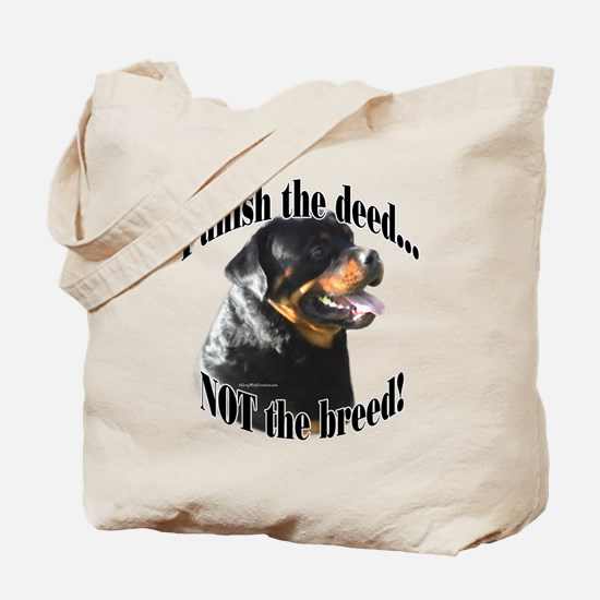Rottweiler Anti-BSL 3 Tote Bag