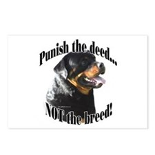 Rottweiler Anti-BSL 3 Postcards (Package of 8)