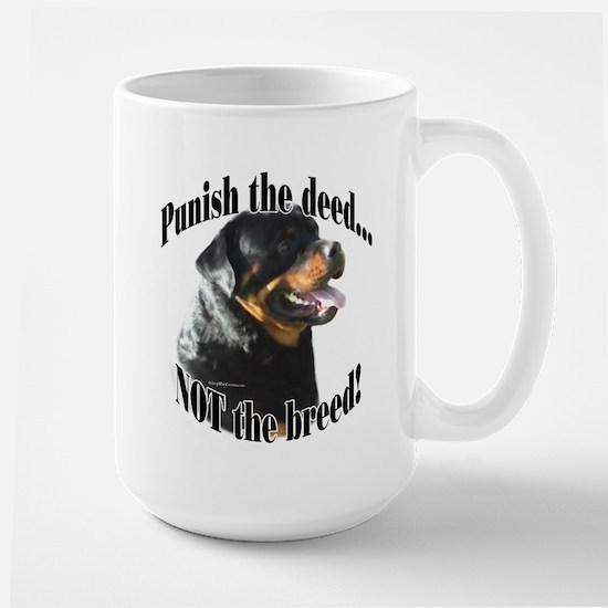 Rottweiler Anti-BSL 3 Large Mug