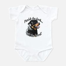 Rottweiler Anti-BSL 3 Infant Bodysuit