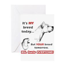Dogo BSL2 Greeting Card
