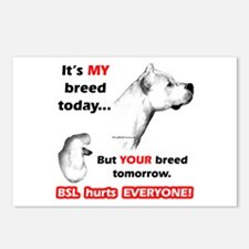 Dogo BSL2 Postcards (Package of 8)