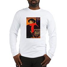 Aristide Bruant Long Sleeve T-Shirt
