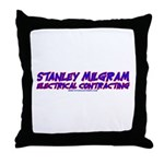 Milgram Electrical Contractor Throw Pillow