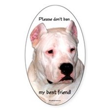Dogo BSL1 Oval Decal