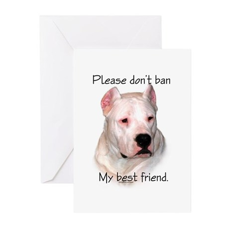 Dogo BSL1 Greeting Cards (Pk of 20)