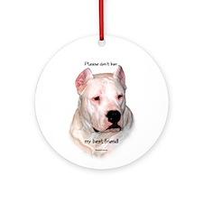 Dogo BSL1 Ornament (Round)