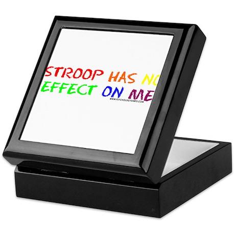 Stroop Effect Keepsake Box
