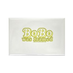 Bobo Was Framed Rectangle Magnet