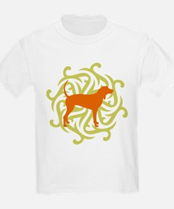 Lime & Rust Coonhound T-Shirt