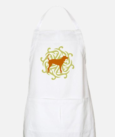 Lime & Rust Coonhound BBQ Apron