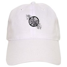 Peace Sign Filigree Art Baseball Baseball Cap