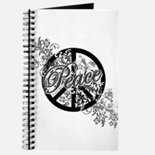 Peace Sign Filigree Art Journal