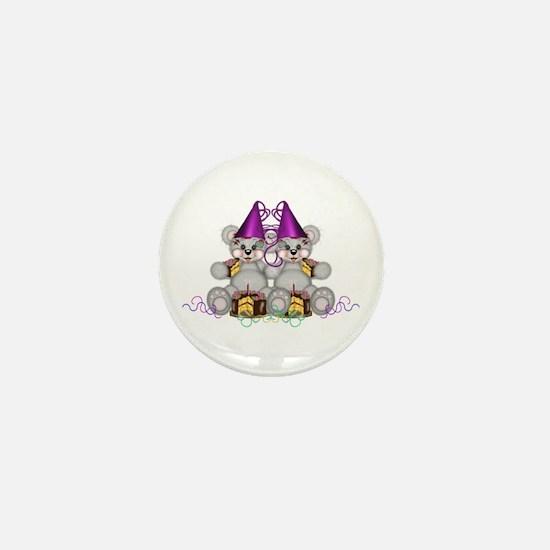 BIRTHDAY TWINS Mini Button
