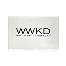 Who Would Kinsey Do? Rectangle Magnet
