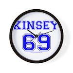Kinsey Jersey Wall Clock