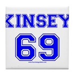 Kinsey Jersey Tile Coaster