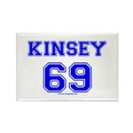 Kinsey Jersey Rectangle Magnet (100 pack)