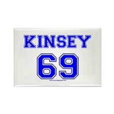 Kinsey Jersey Rectangle Magnet