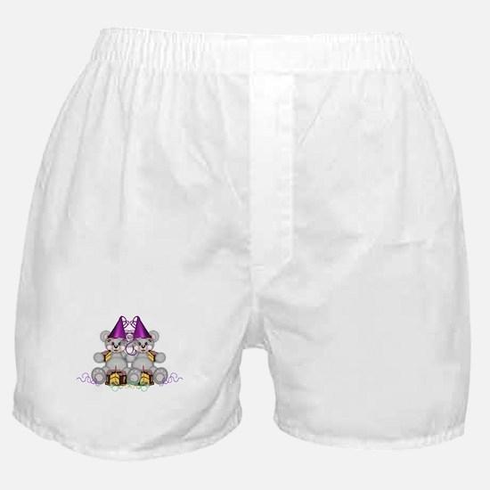 BIRTHDAY TWINS Boxer Shorts