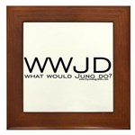 What Would Jung Do? Framed Tile