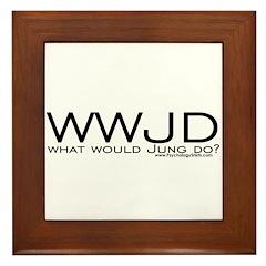 What Would Jung Do? Framed Tile