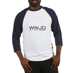 What Would Jung Do? Baseball Jersey