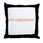 J@ck@ss Archetype Throw Pillow