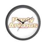 Party Animus Wall Clock