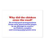 Chicken Elektra Postcards (Package of 8)