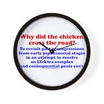 Chicken Elektra Wall Clock