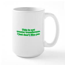 Not Counter Transference Mug