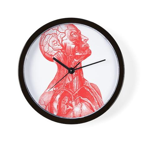 Vintage Medical Drawing Wall Clock by vintagemeddraw
