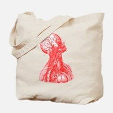 Vintage Medical Drawing Tote Bag