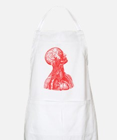 Vintage Medical Drawing BBQ Apron