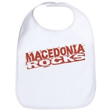 Macedonia Rocks Bib