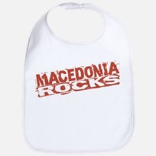 Macedonia Rocks Bib