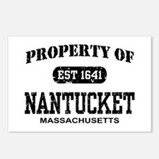 Property of Nantucket Postcards (Package of 8)