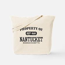 Property of Nantucket Tote Bag