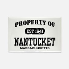 Property of Nantucket Rectangle Magnet